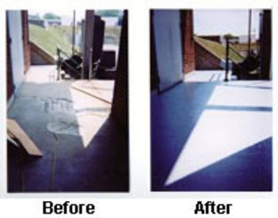 Before and After Concrete Restoration